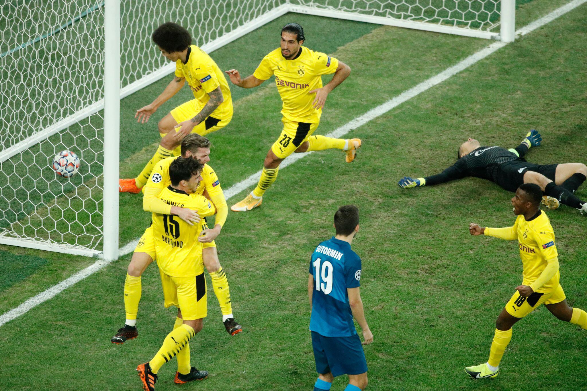 Bild zu Zenit St. Petersburg - Borussia Dortmund