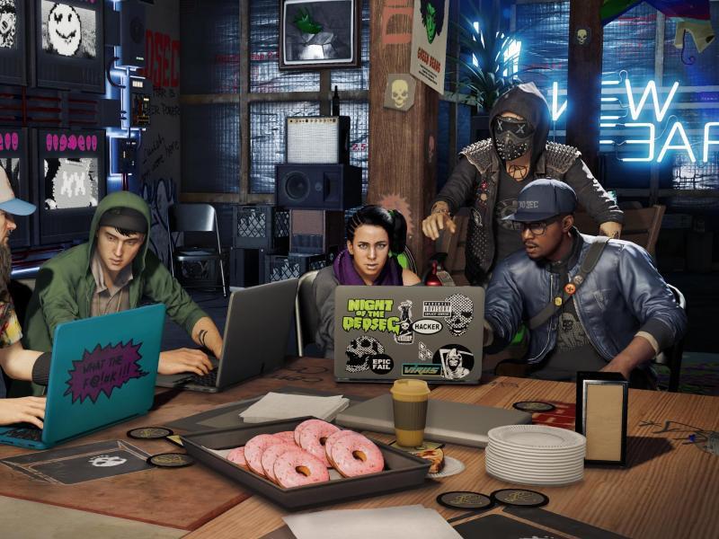 Bild zu Hackergang DedSec