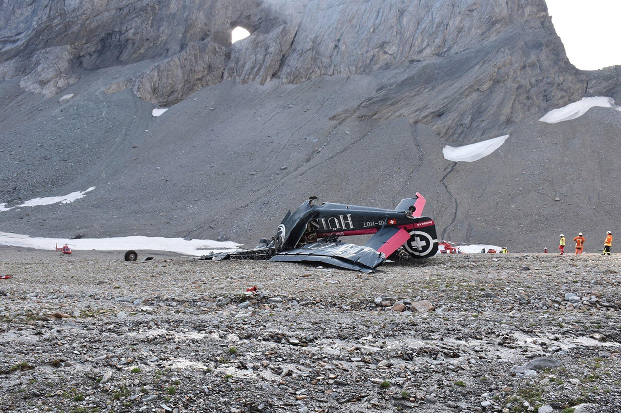 Bild zu Flugzeugabsturz in der Schweiz