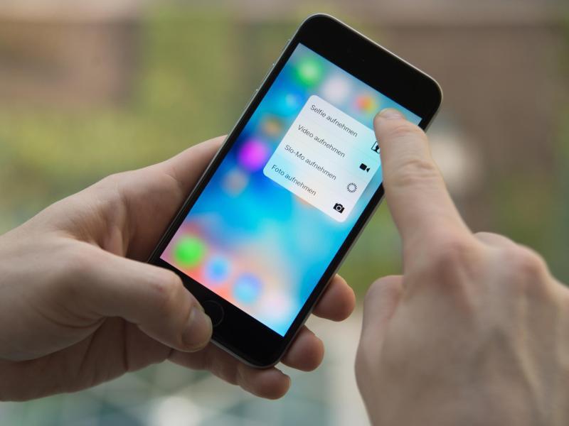 Bild zu 3D Touch beim iPhone
