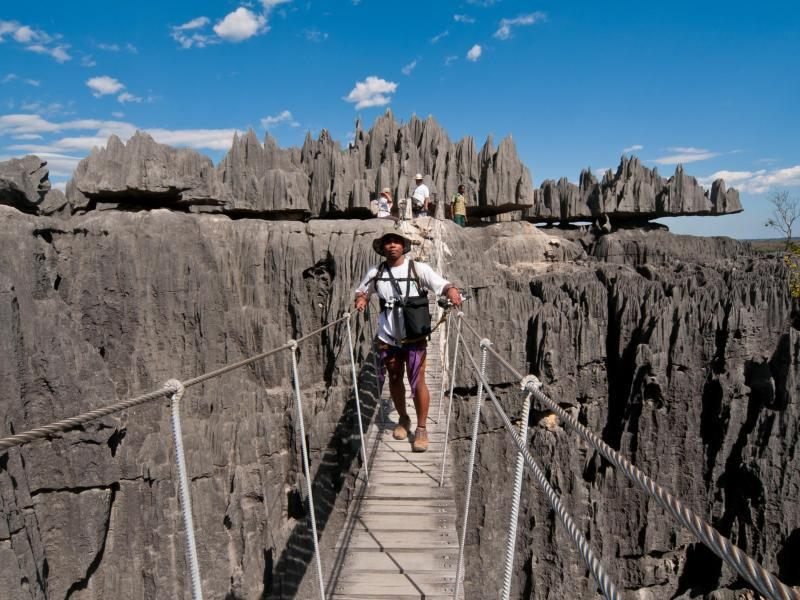 Bild zu Felsnadeln auf Madagaskar