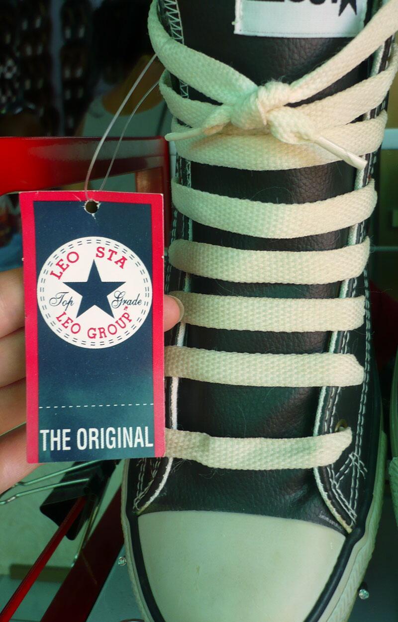 Bild zu Gefälschte Converse-Sneakers