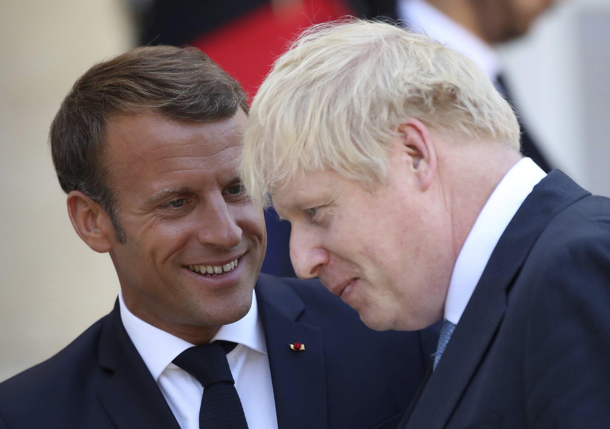 Bild zu Britischer Premierminister Johnson in Paris