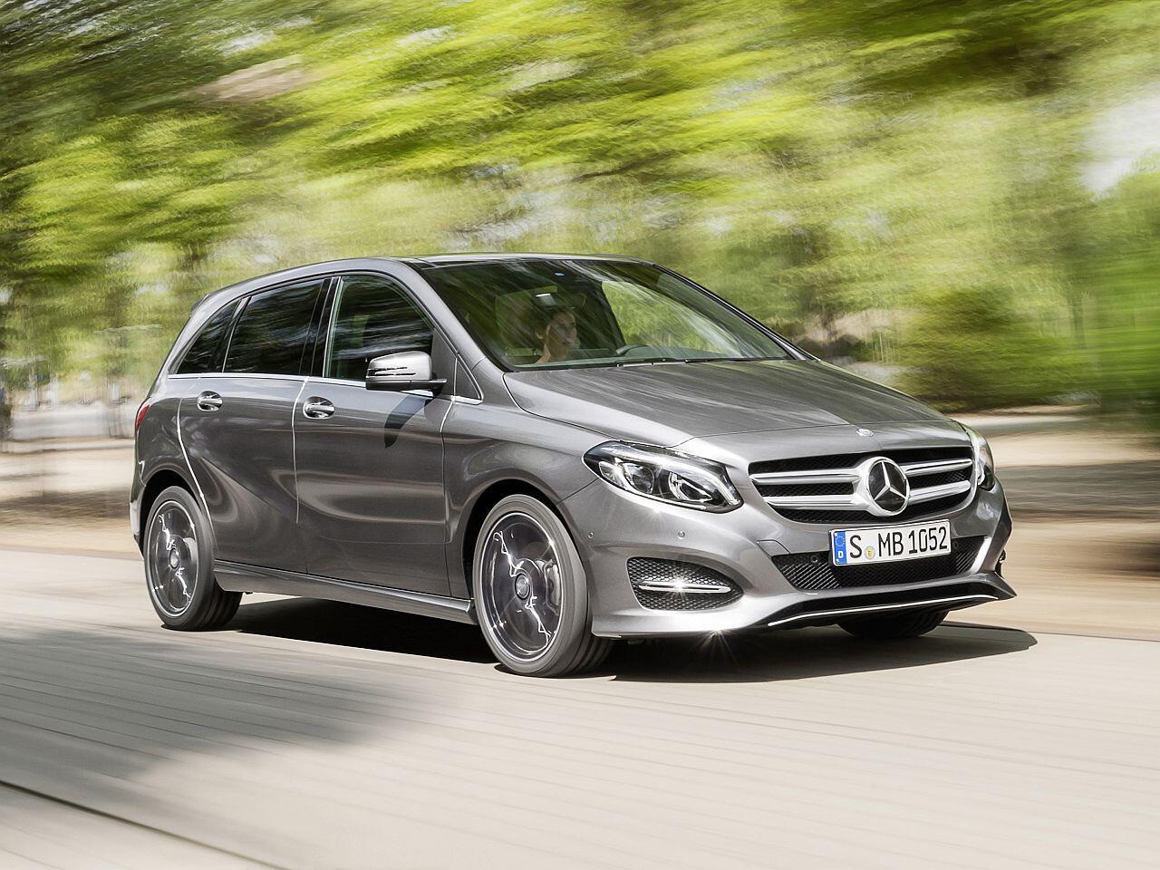 Bild zu Mini-Vans: Mercedes-Benz B-Klasse