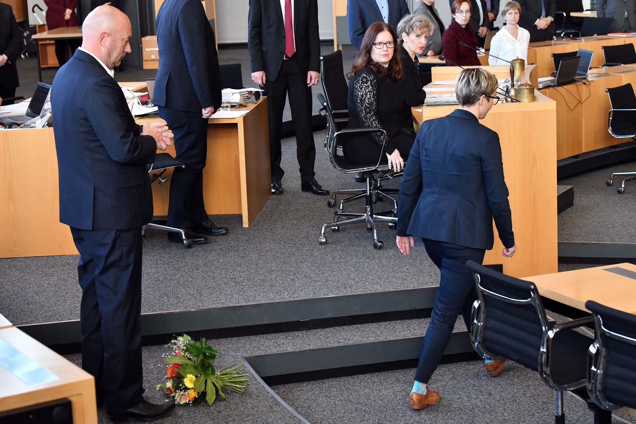 Bild zu Ein Jahr nach der Wahl zum Ministerpräsident von Thomas Kemmerich