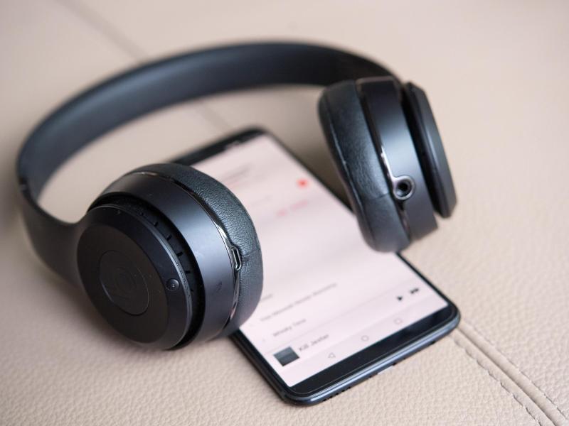 Bild zu Bluetooth-Kopfhörer