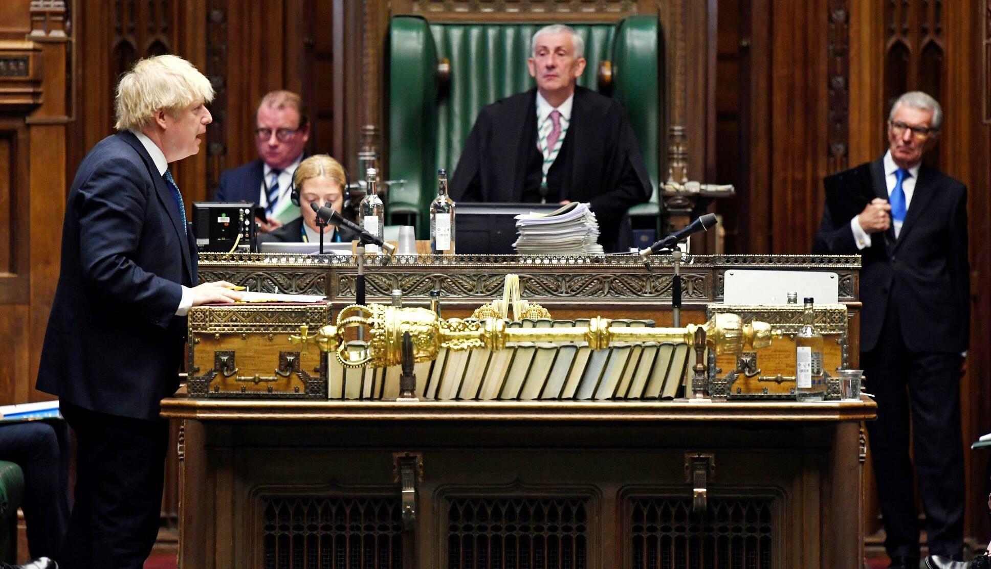 Bild zu Coronavirus - «Prime Ministers Questions» in Grossbritannien