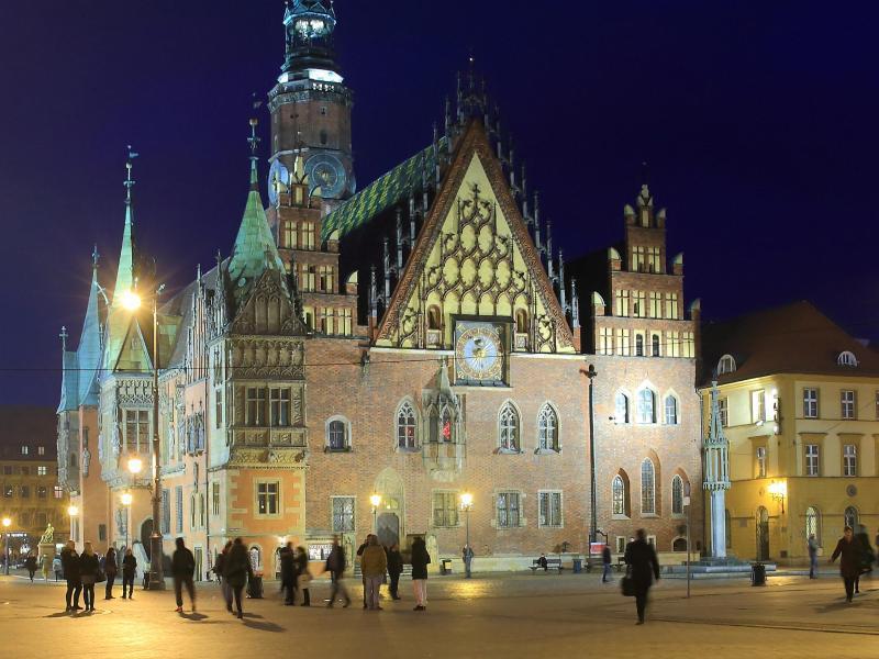 Bild zu Marktplatz von Breslau