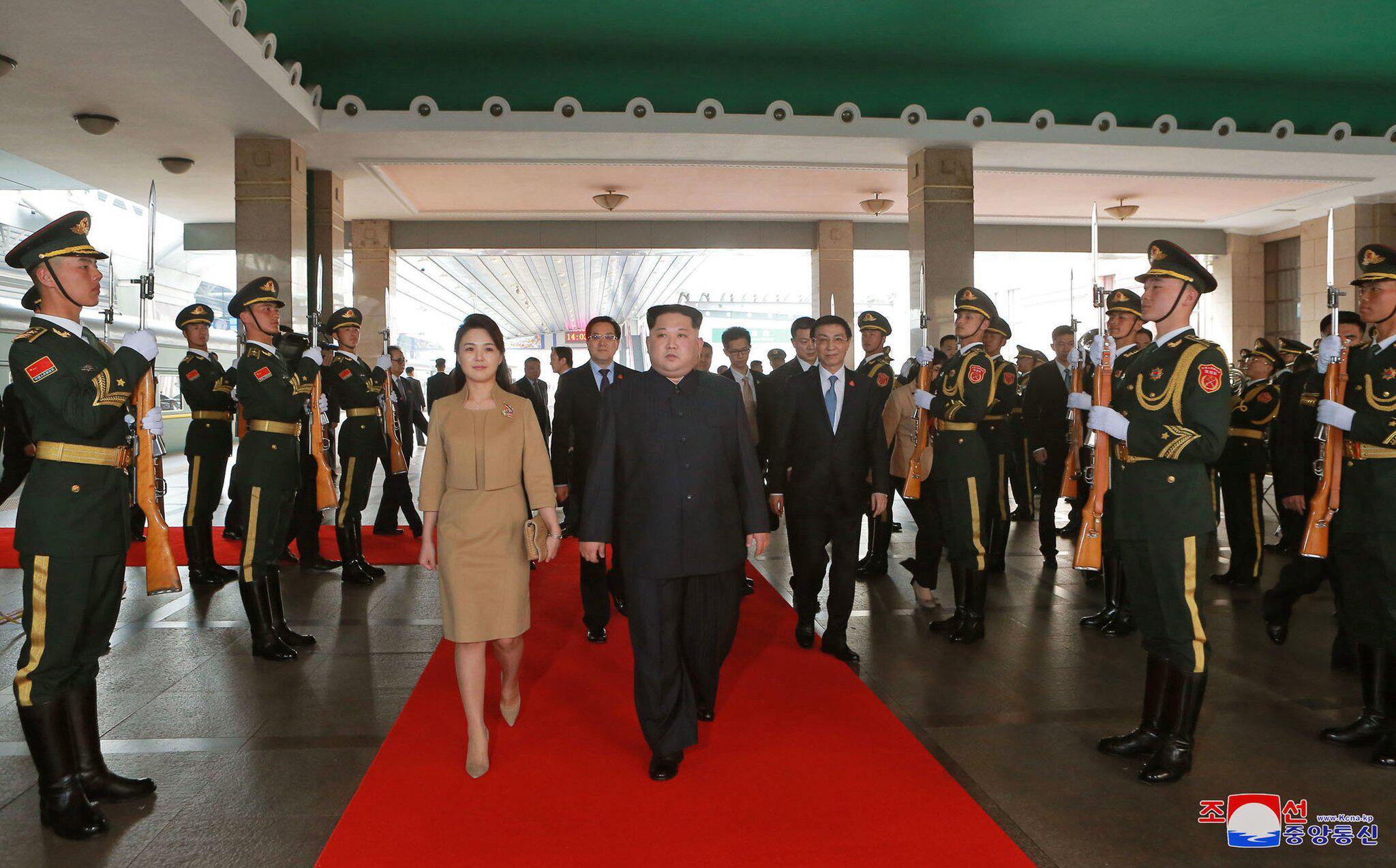 Bild zu Kim Jong Un in China