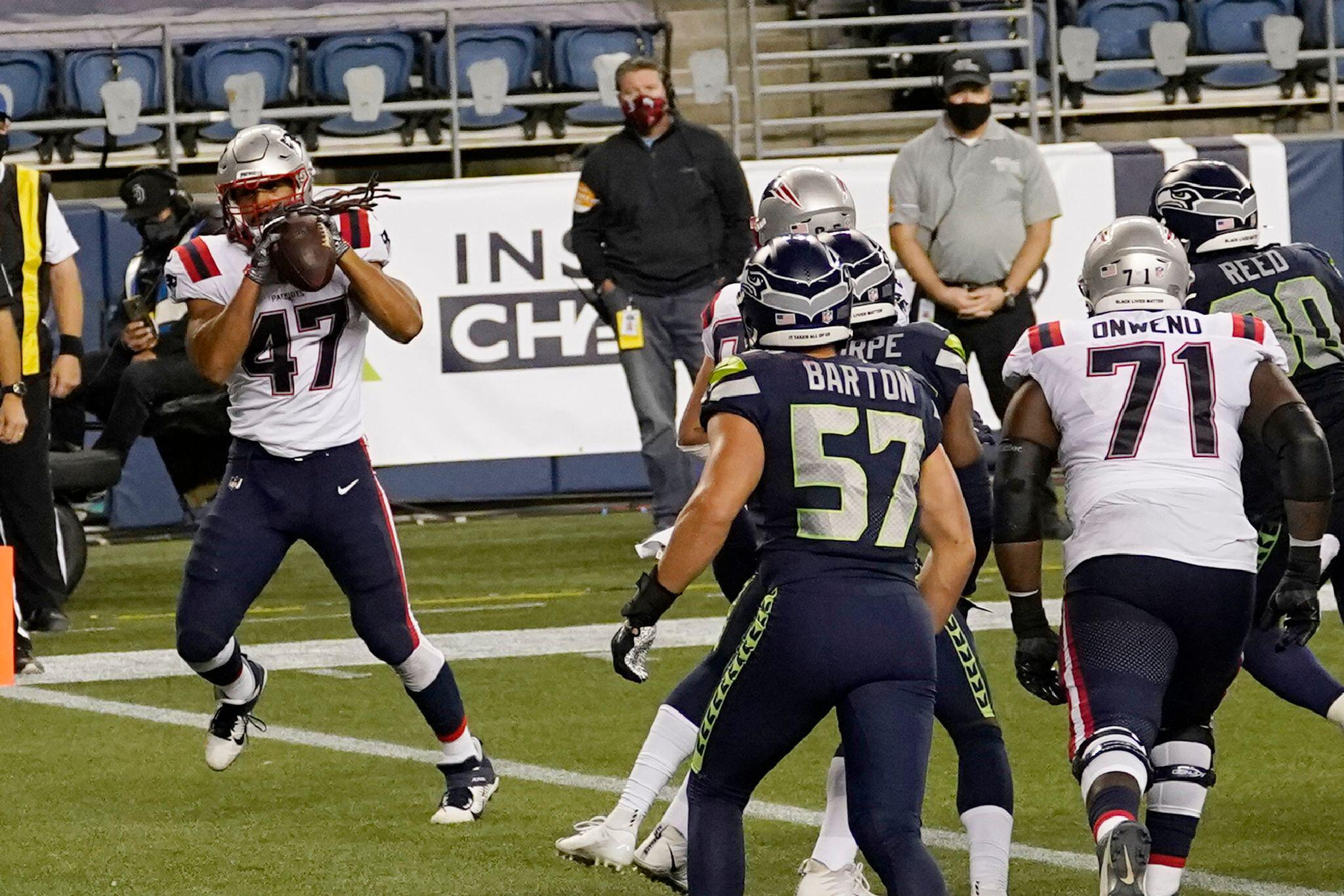 Bild zu New England Patriots - Seattle Seahawks