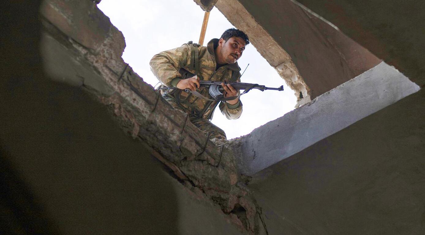Bild zu Syrien, Kämpfe, Kurden, SDF, Terror, Baghus