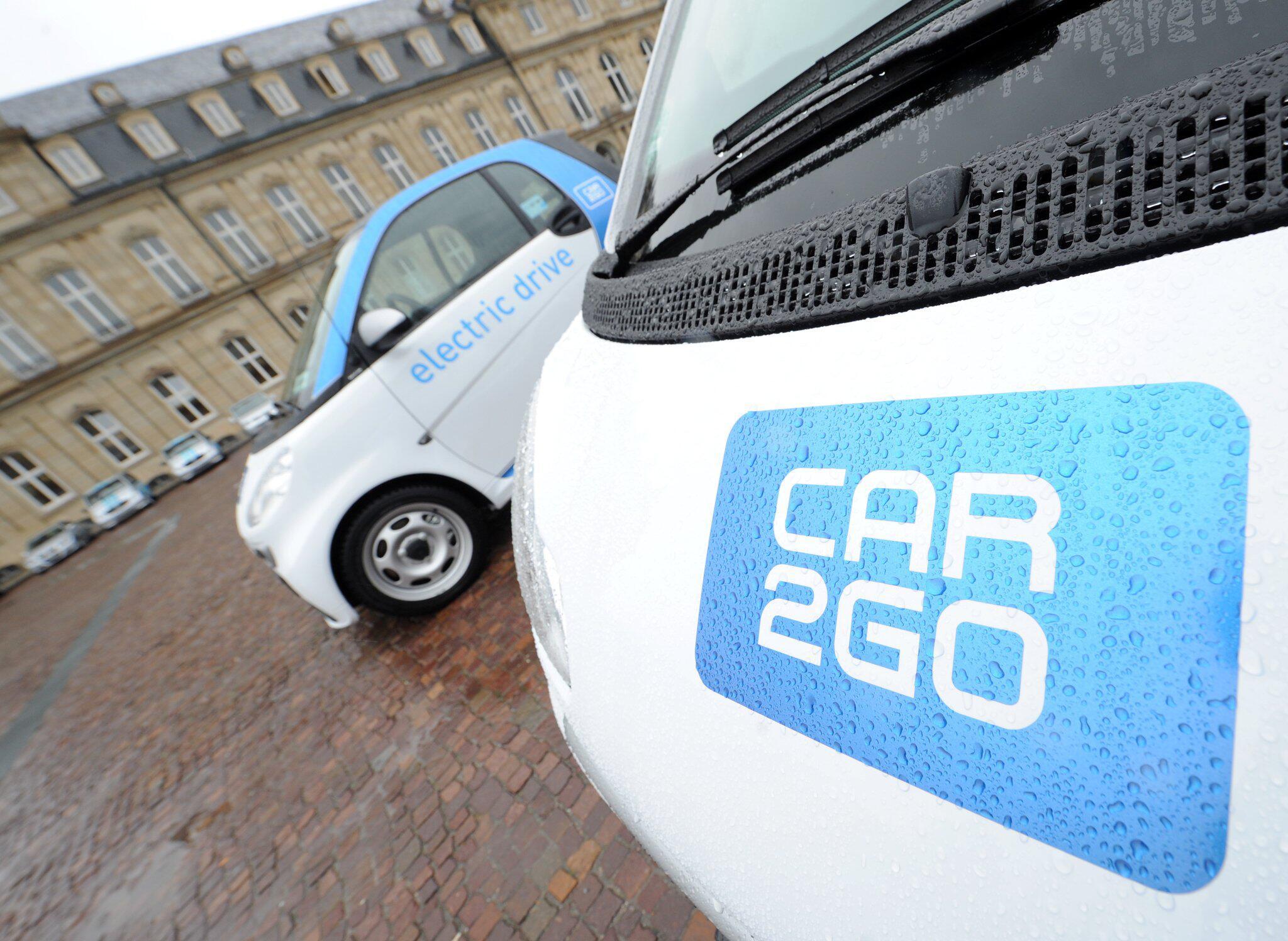 Bild zu Car2go Flotte