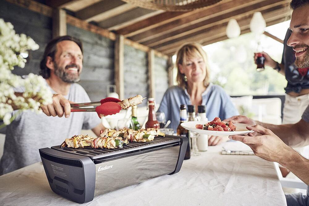 Grillen, Tischgrill, Indoorgrillen, Burgerpresse, Grillbesteck, BBQ, Koffergrill, Elektrogrill