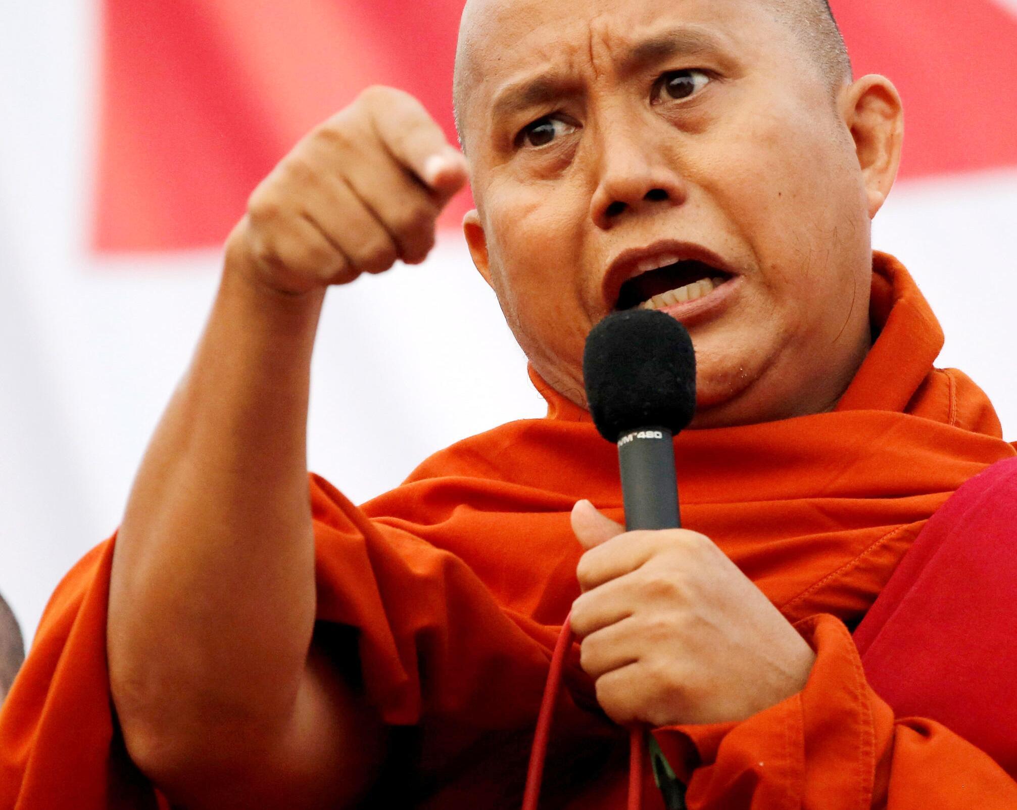 Bild zu Buddhistischer Hassprediger
