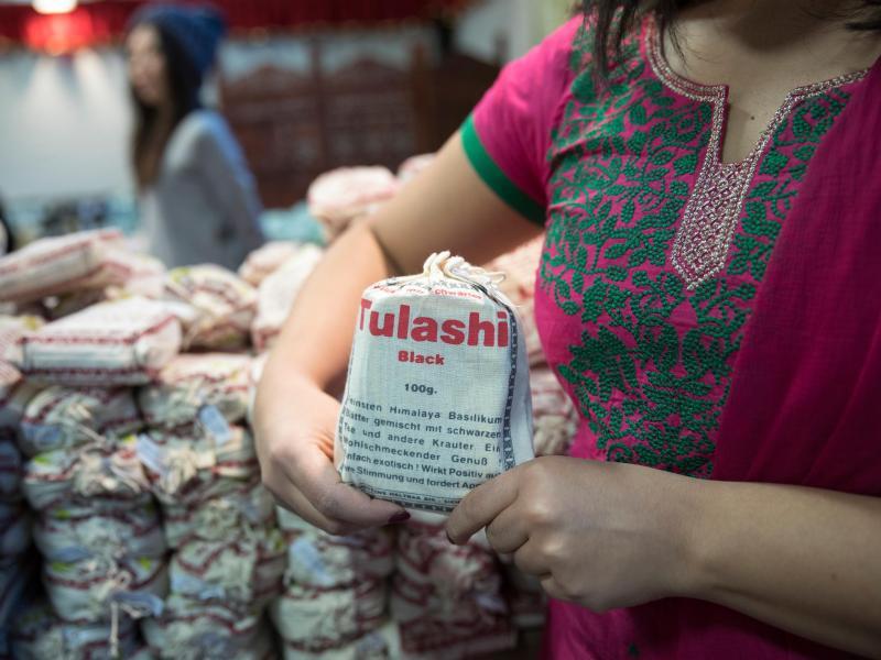 Bild zu Tulasi - Basilikum-Tee