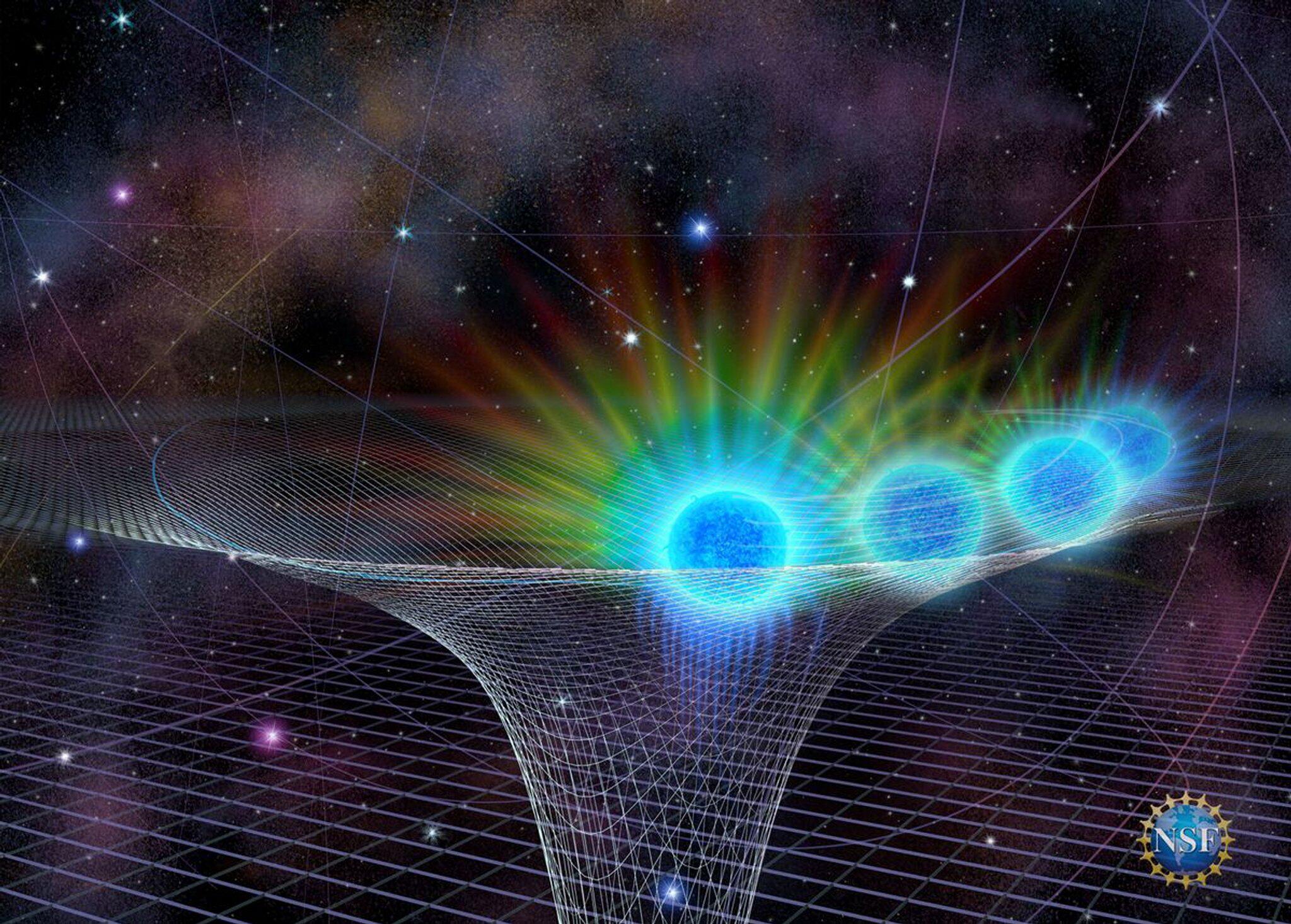 Bild zu Schwarzes Loch im Herzen der Milchstrasse