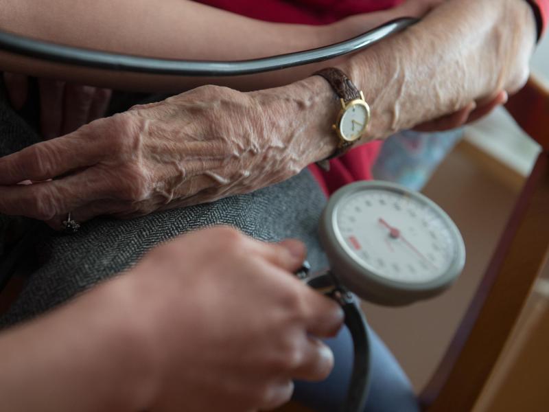 Bild zu Blutdruckmessung