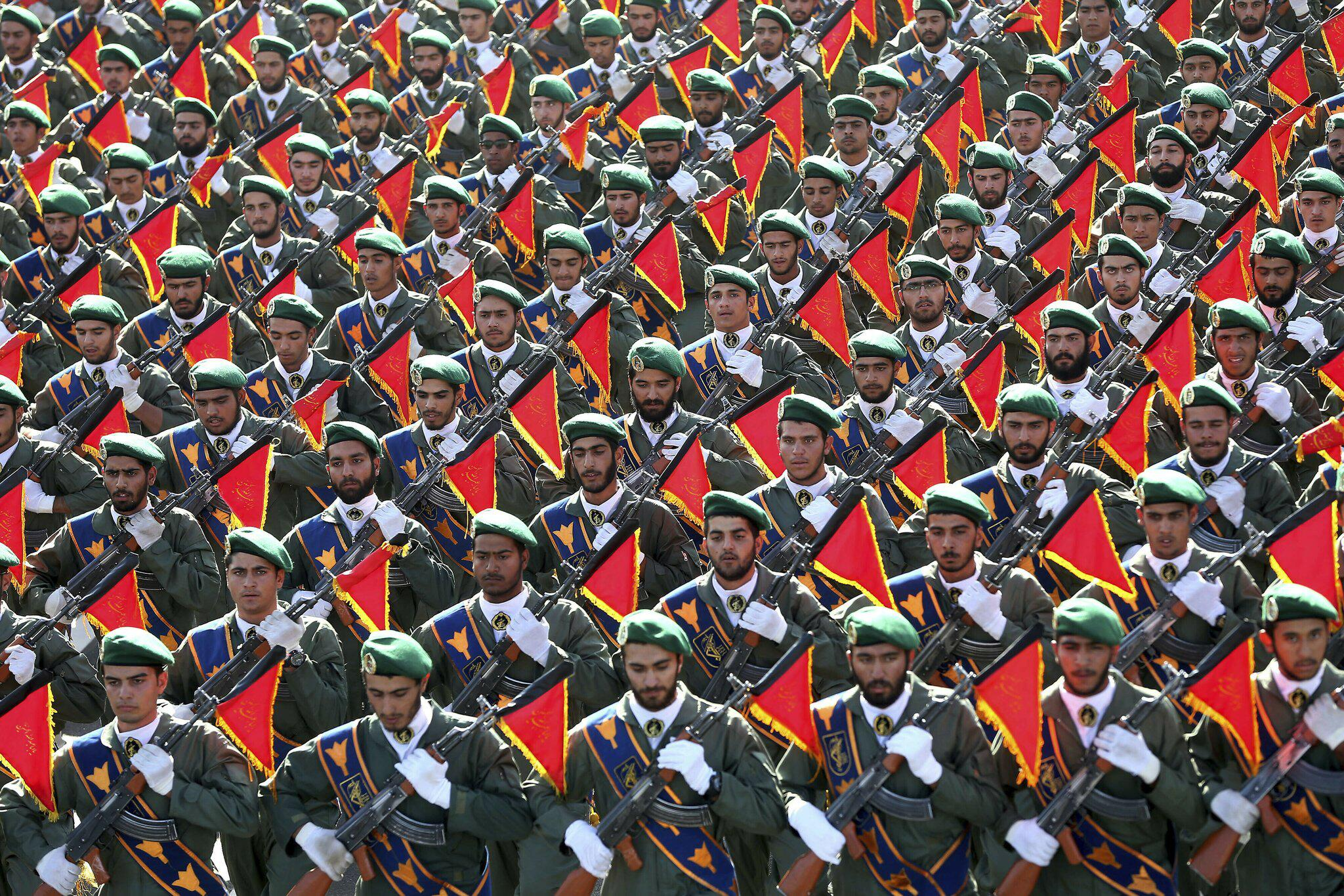Bild zu Revolutionsgarden im Iran