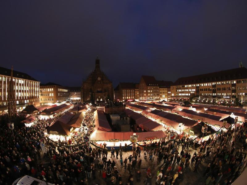 Bild zu Nürnberger Christkindlesmarkt