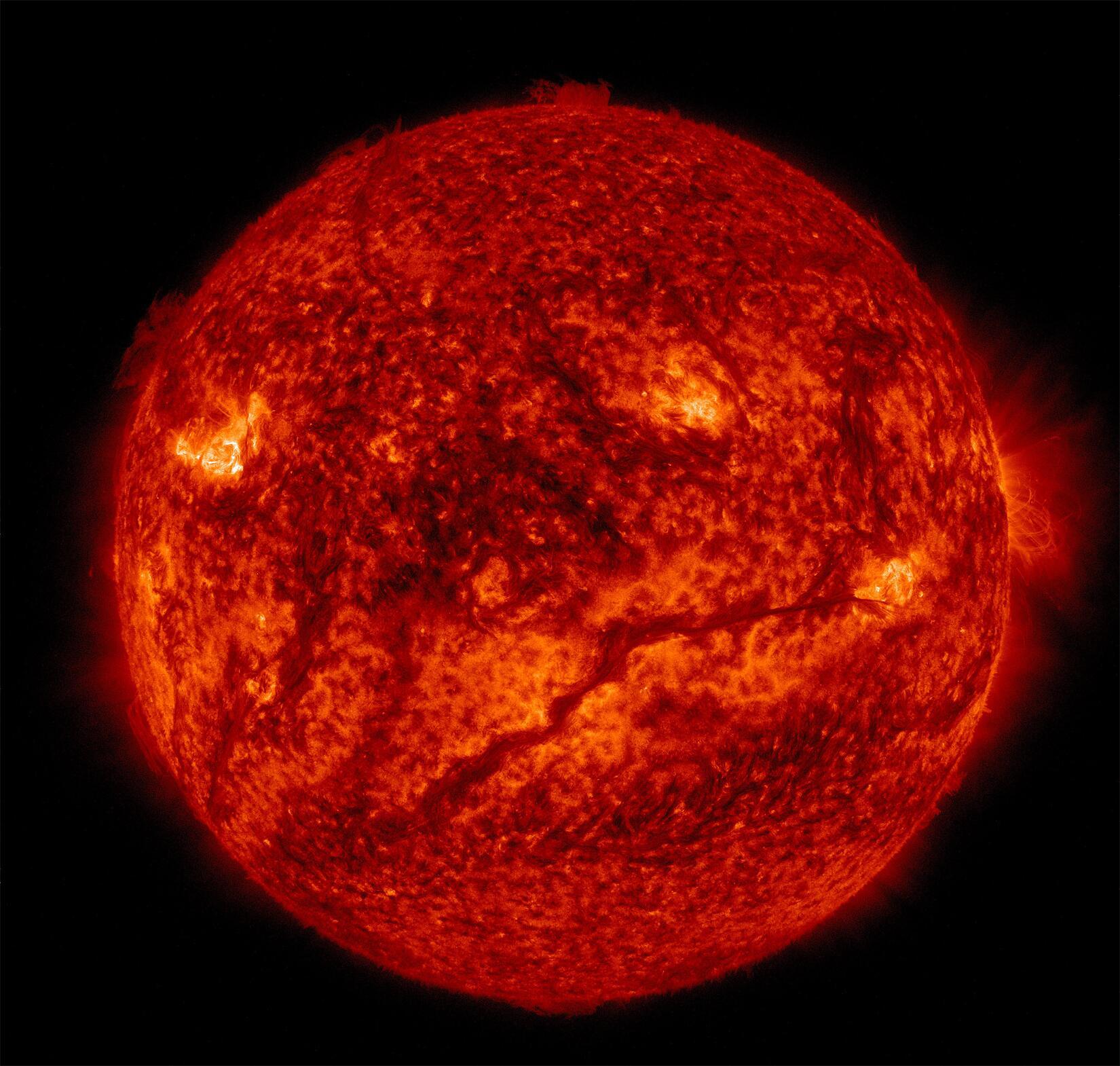 Bild zu Sonne Solar Dynamic Observatory