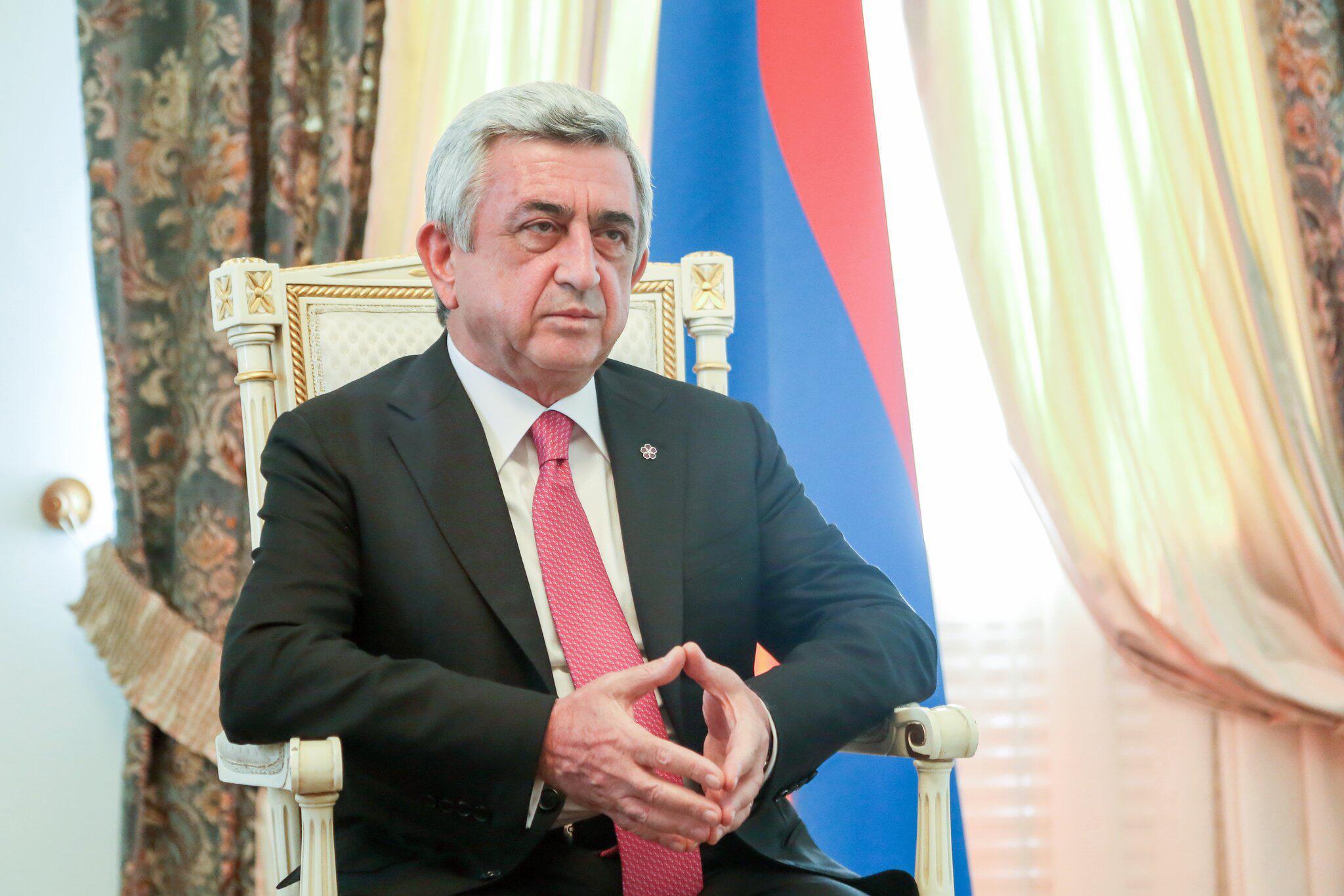 Bild zu Armenischer Präsident Sersch Sargsjan