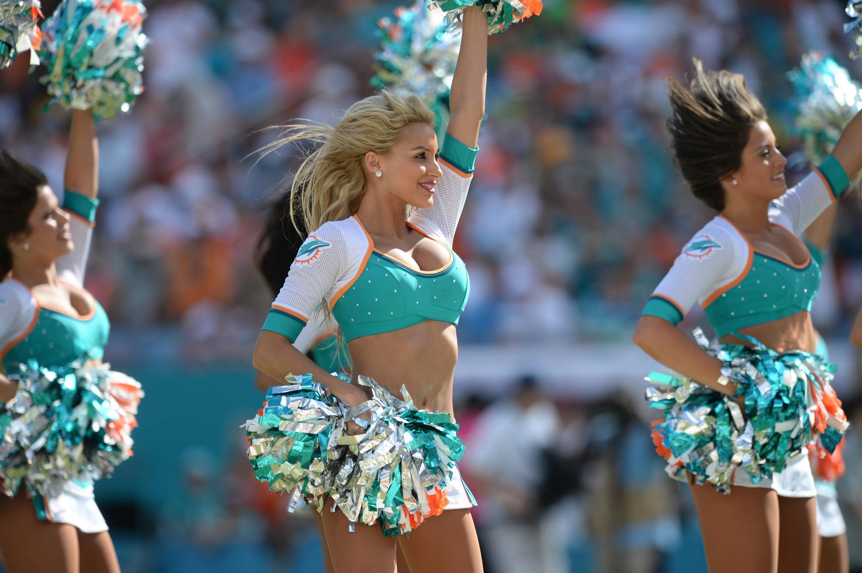 Bild zu Miami Dolphins, Cheerleader, NFL