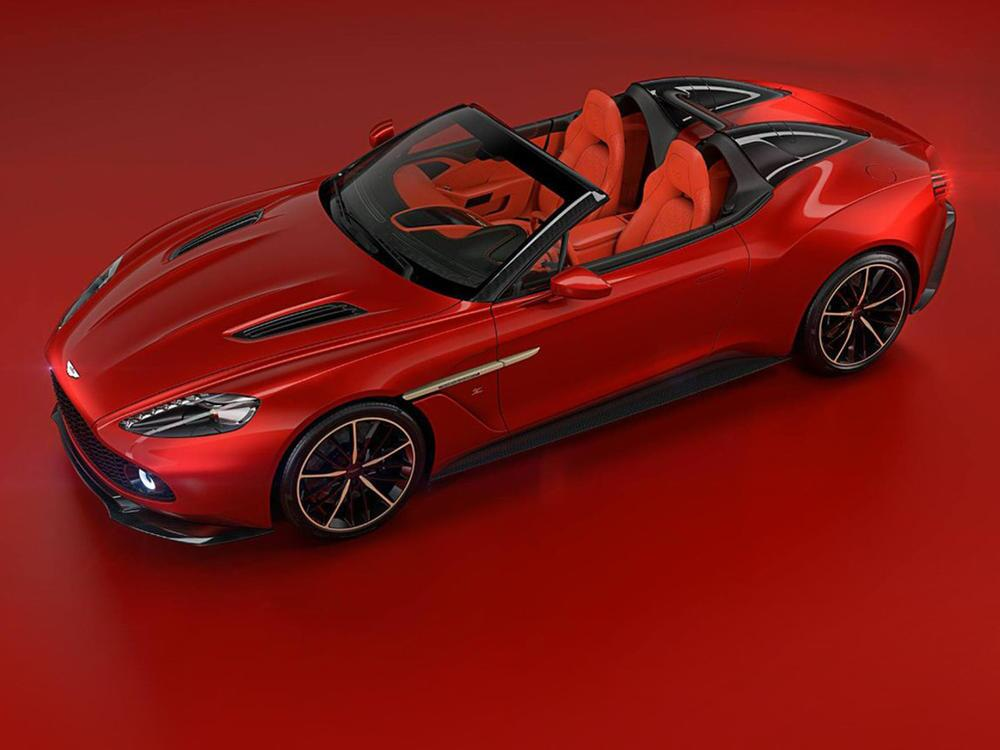 Bild zu Aston Martin Vanquish Zagato Kollektion: Vom Shooting Brake bis zum Speedster