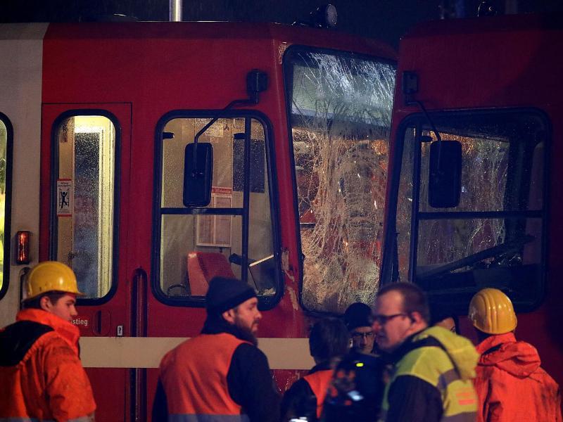 Bild zu Strassenbahnunfall