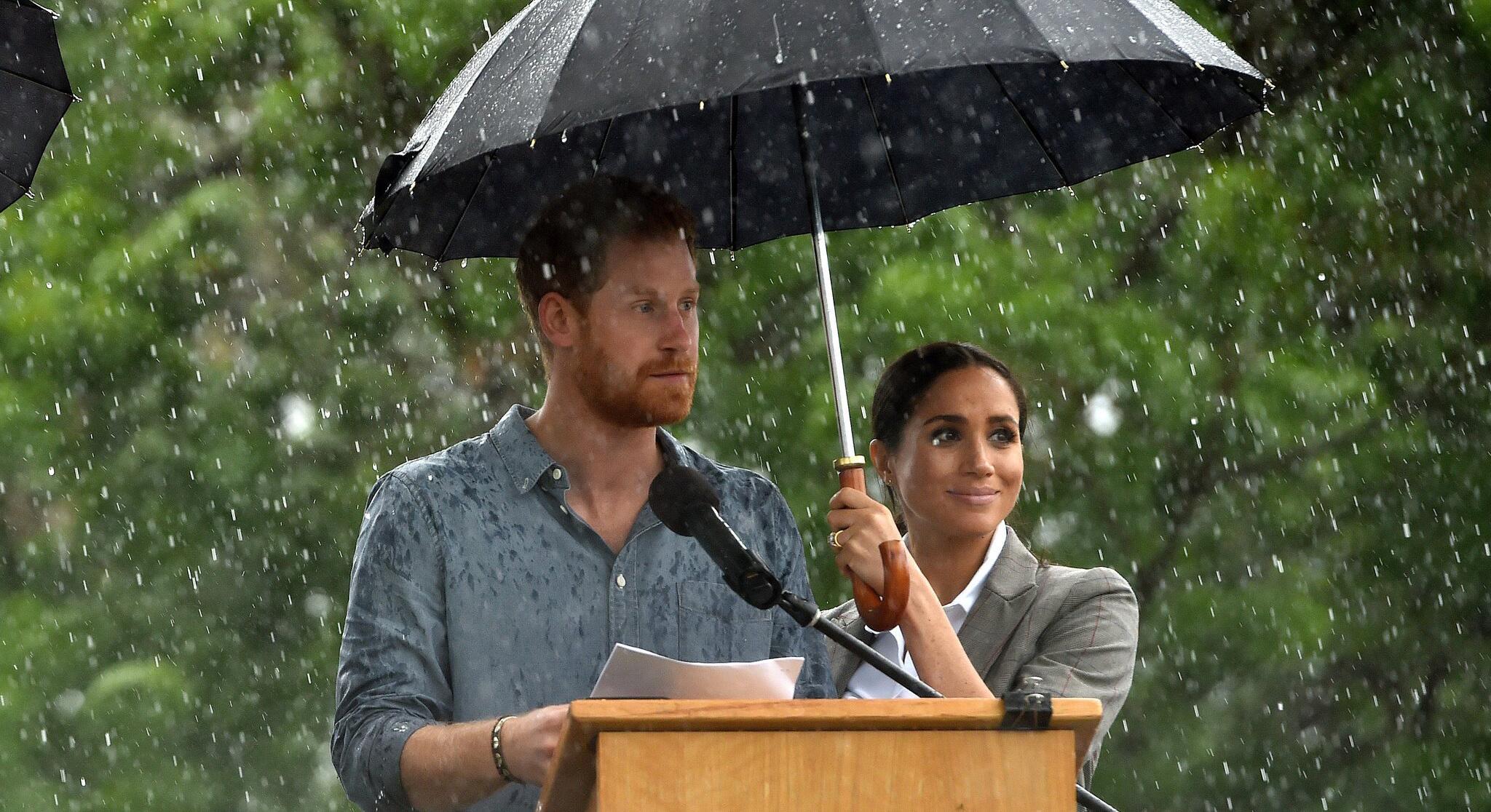 Bild zu Prinz Harry und Meghan in Australien