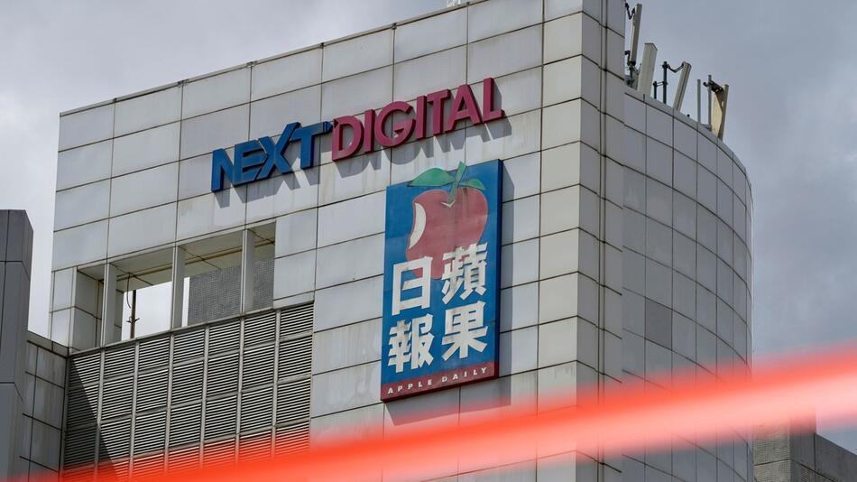 Hongkonger «Apple Daily» stellt Betrieb ein