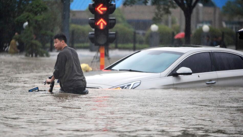 Unwetter in China