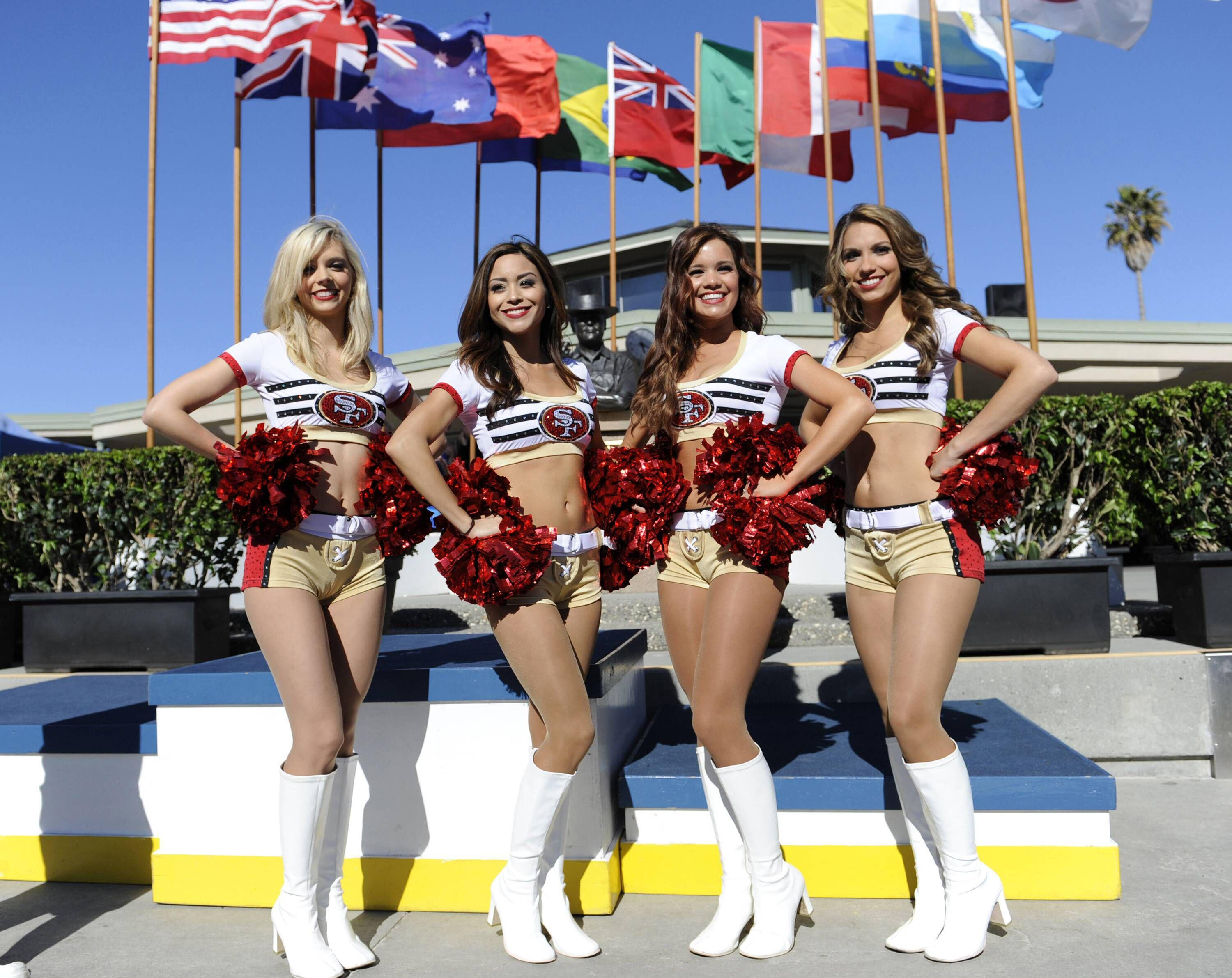 Bild zu San Francisco 49ers, Cheerleader, NFL