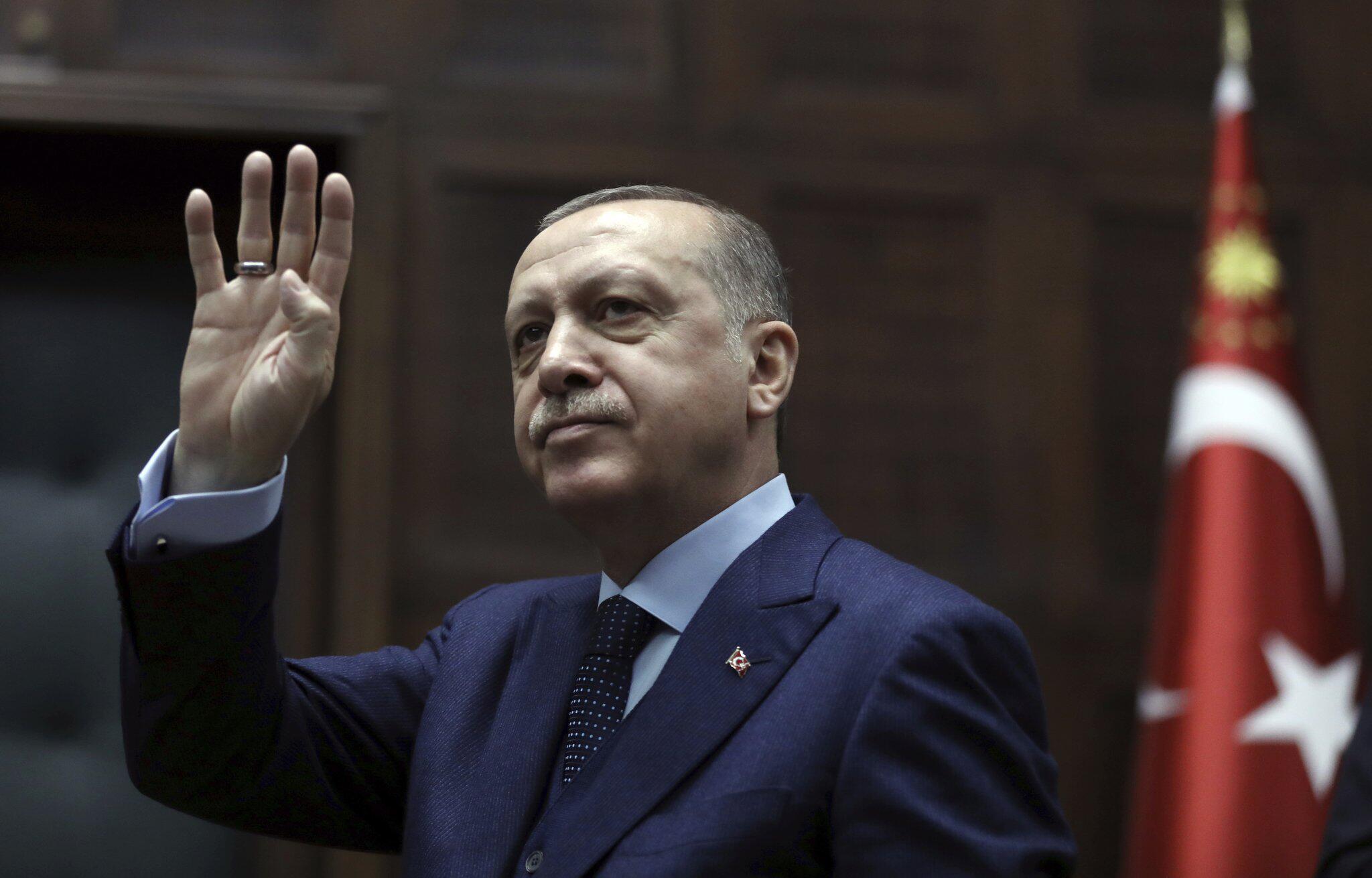 Bild zu Türkischer Präsident spricht im Parlament