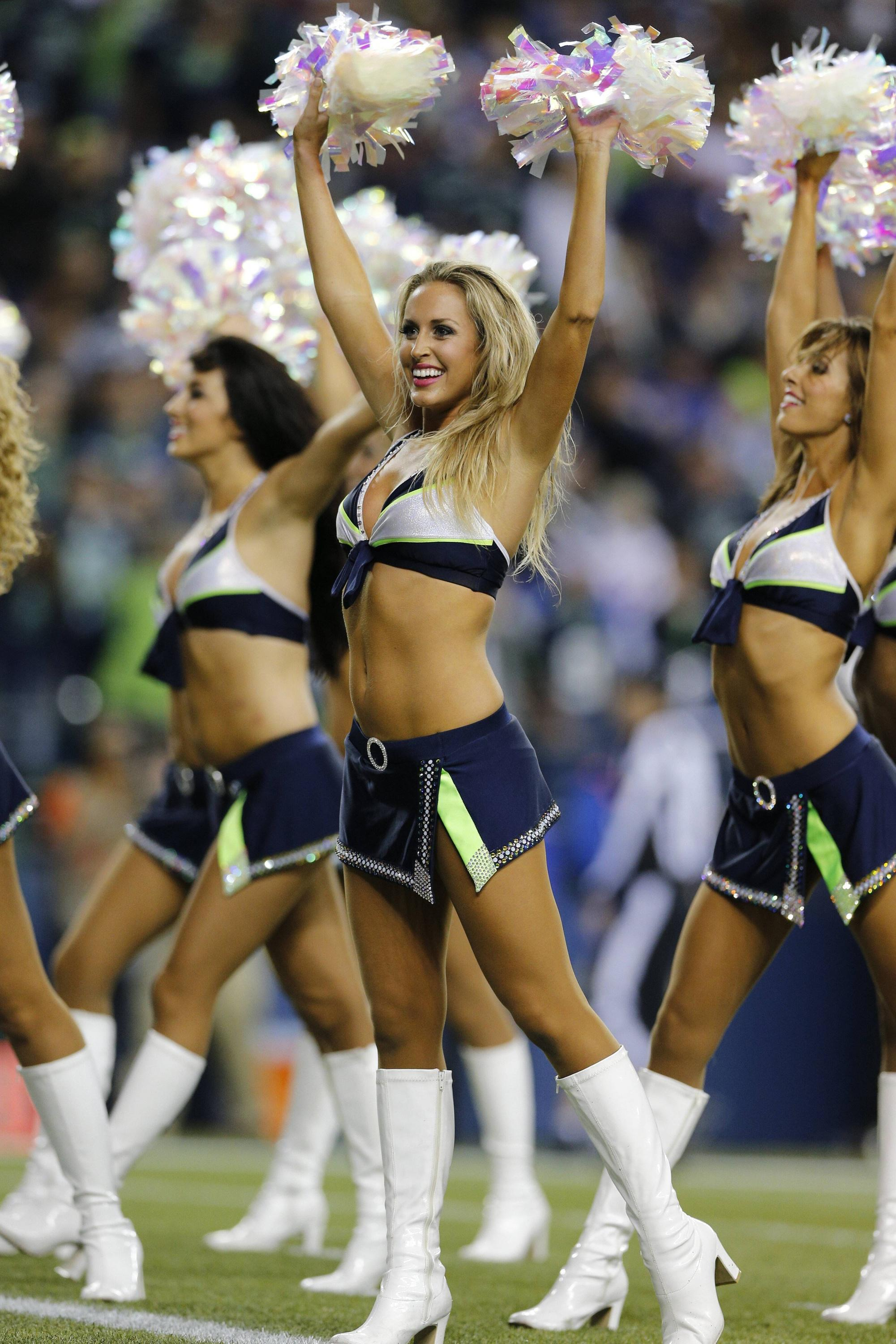 Bild zu Seattle Seahawks, Cheerleader, NFL
