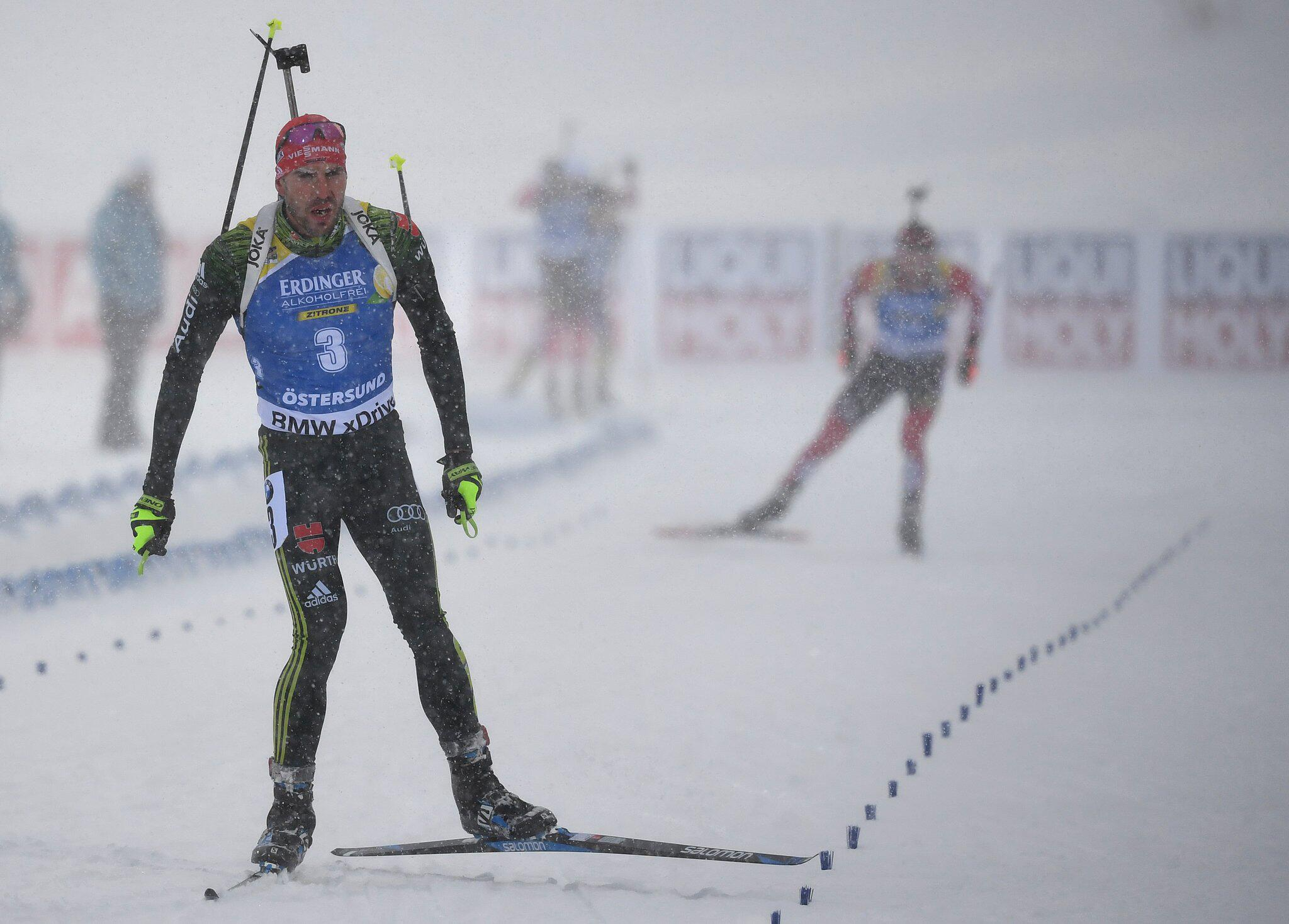 Bild zu Biathlon - WM Östersund