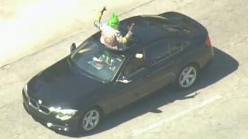 Bild zu Clown, Polizei,