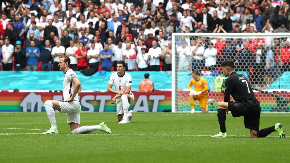 Fussball EM - England - Deutschland