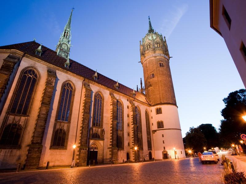 Bild zu Schlosskirche von Wittenberg