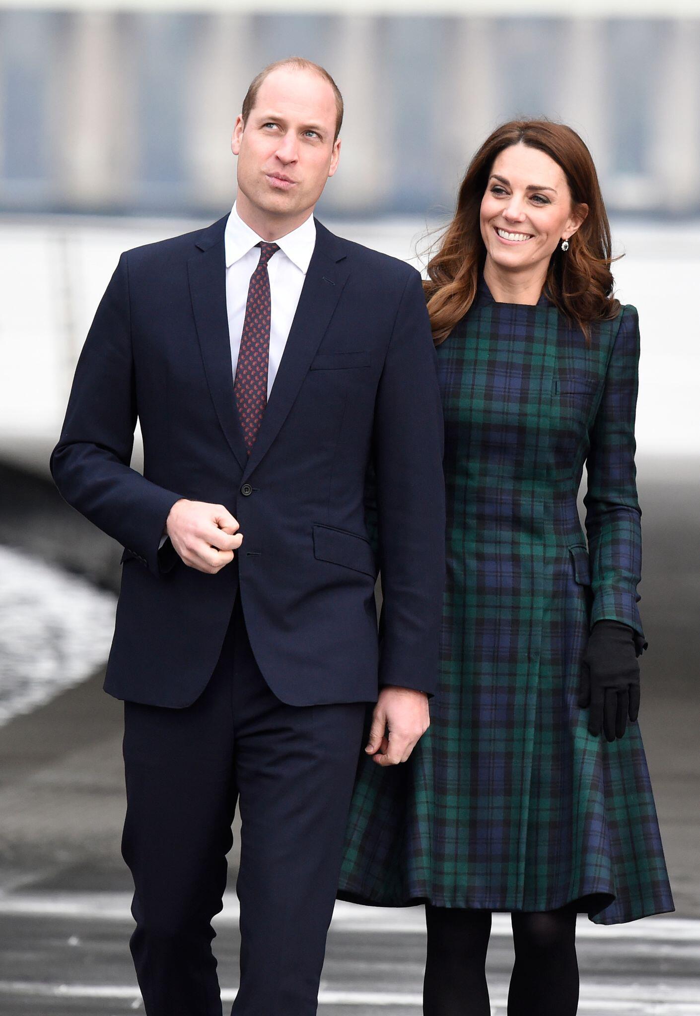 Bild zu Prinz William und Kate