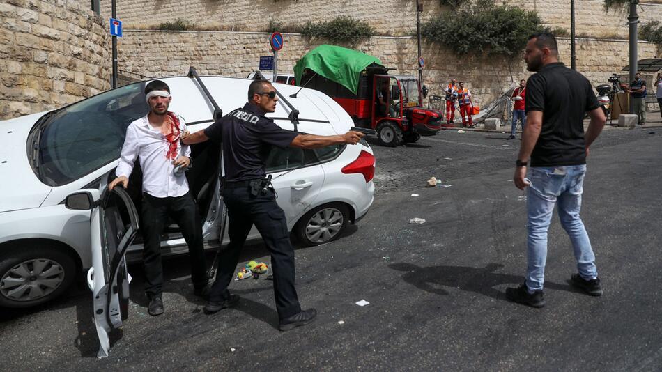 Auseinandersetzungen auf dem Tempelberg in Jerusalem