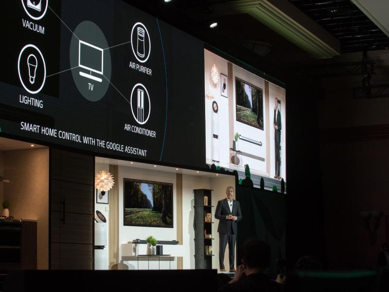 Bild zu LGs ThinQ-Plattform