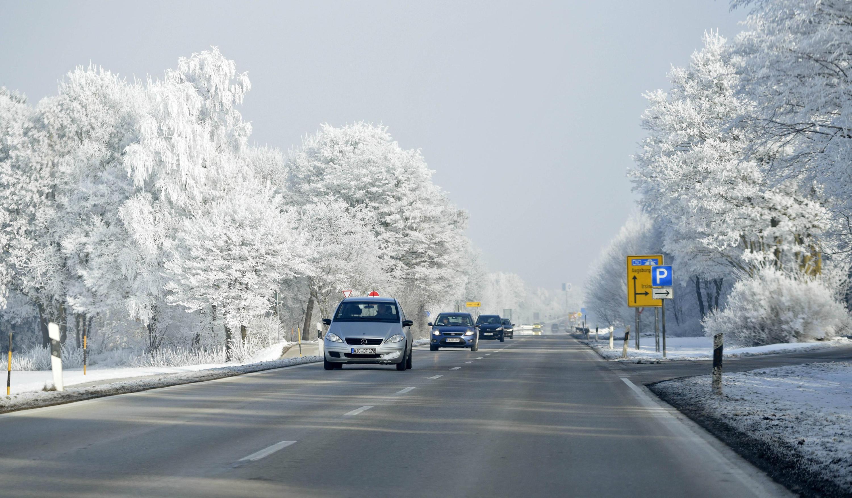 Bild zu Autofahren bei Schnee, Winter