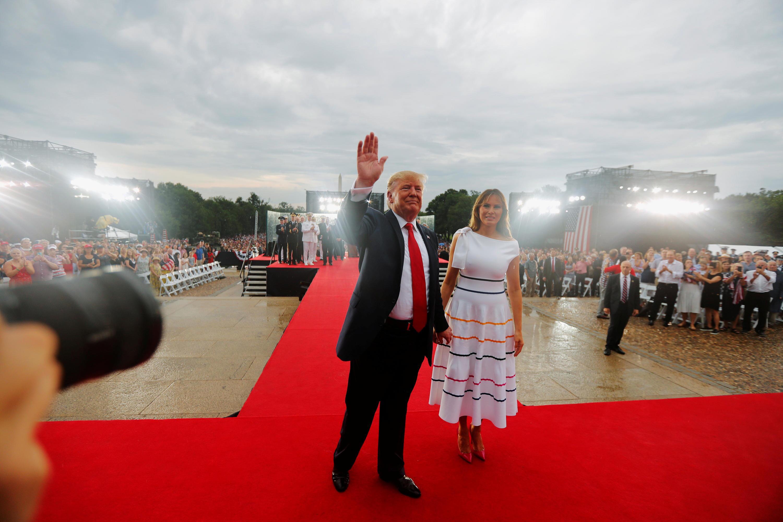 Bild zu Trump Militärparade