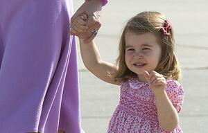 Prinz William spricht über seine Tochter Charlotte