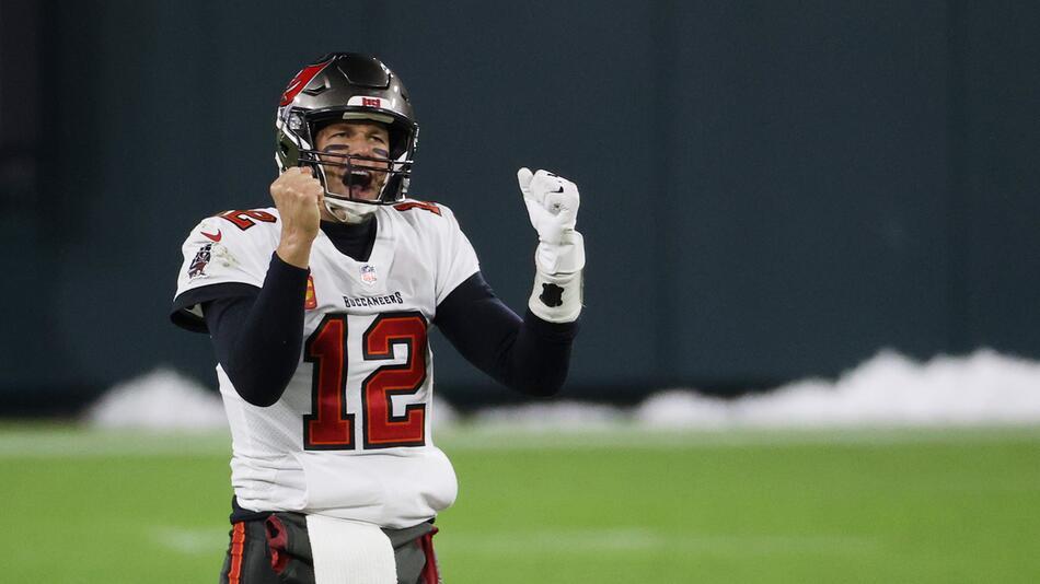 Tom Brady kann seinen siebten Super Bowl gewinnen.