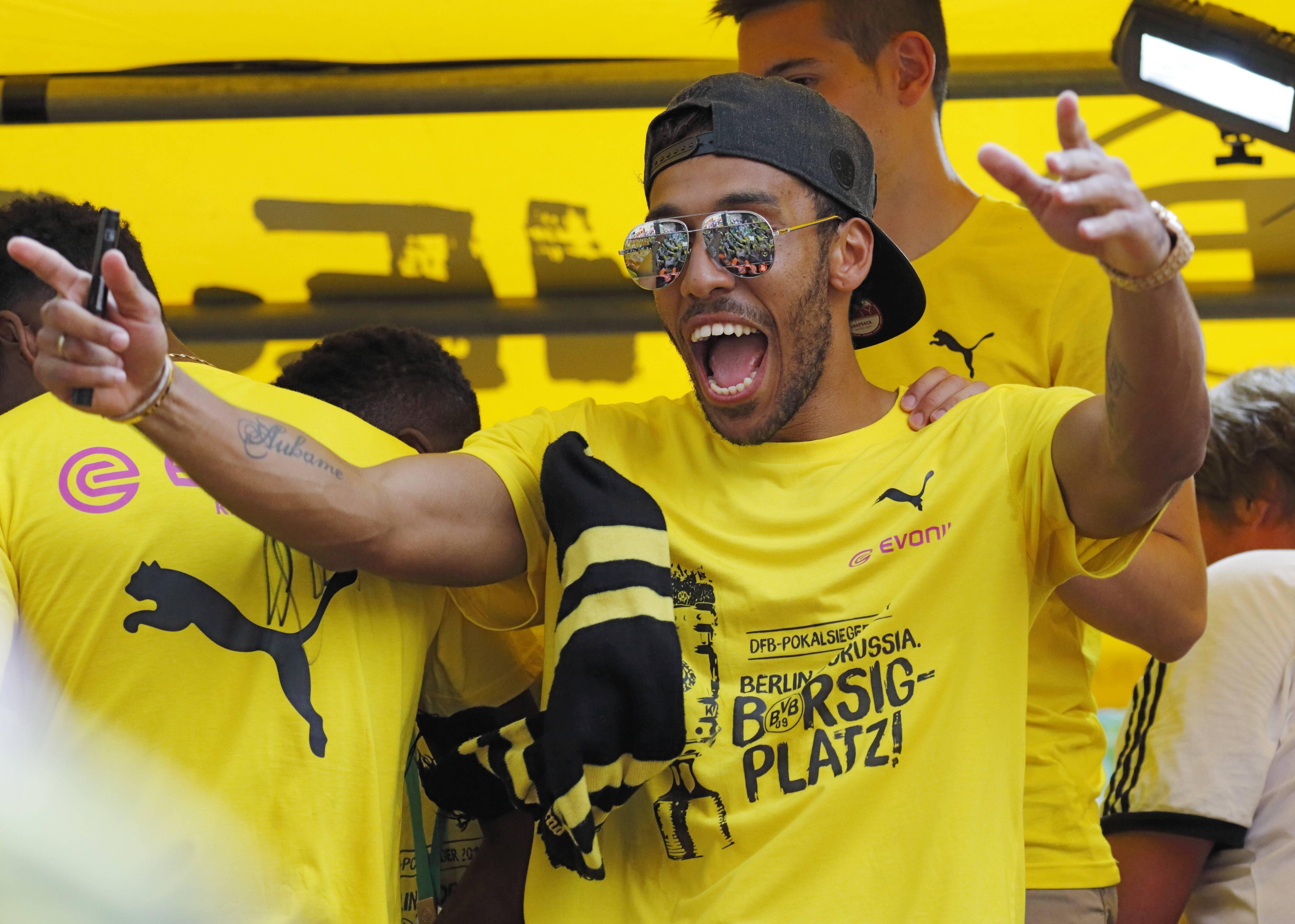 Bild zu Pierre-Emerick Aubameyang, Borussia Dortmund, Transfer News