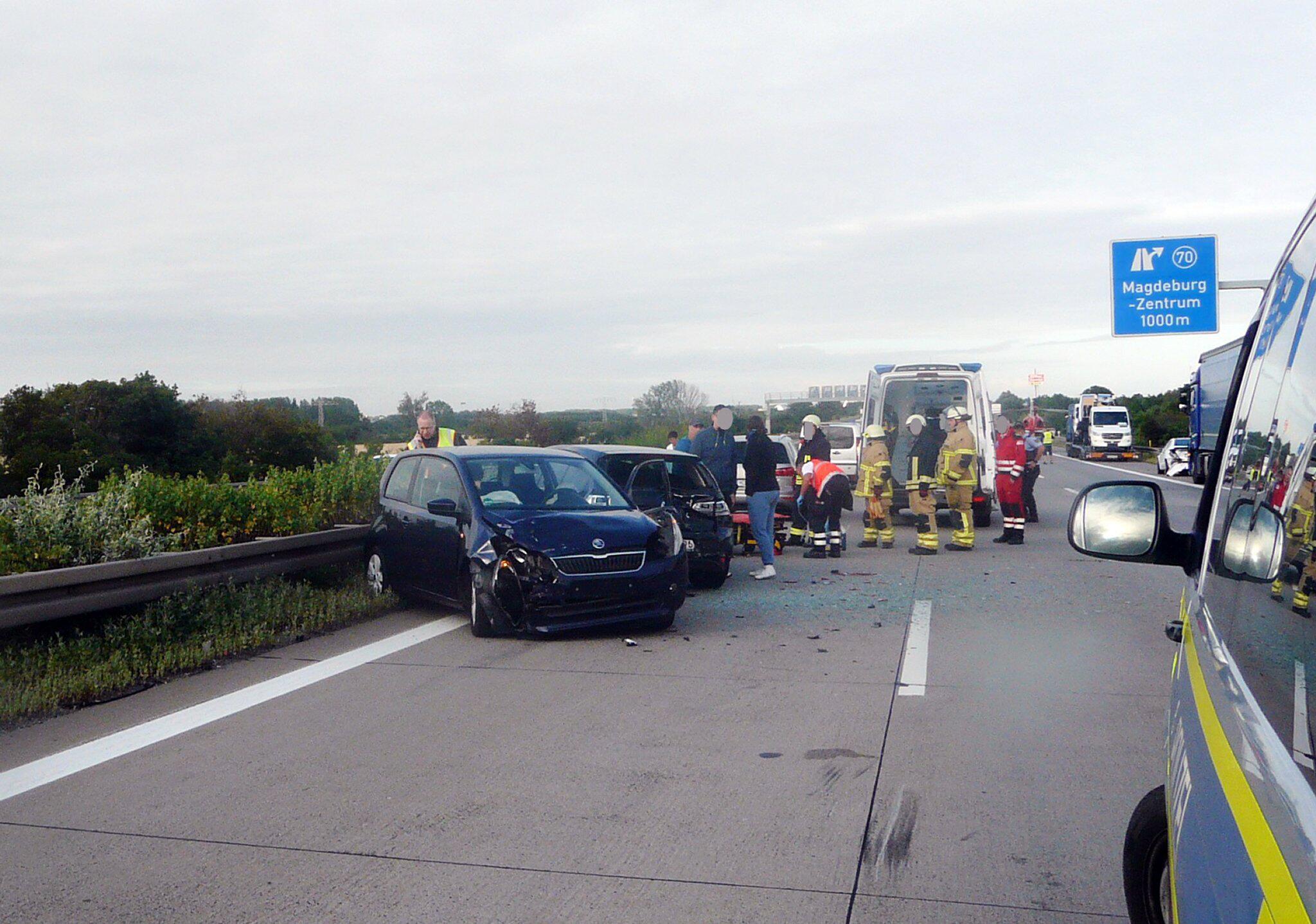 Bild zu Schwan auf der Autobahn sorgt für Unfall mit vier Autos