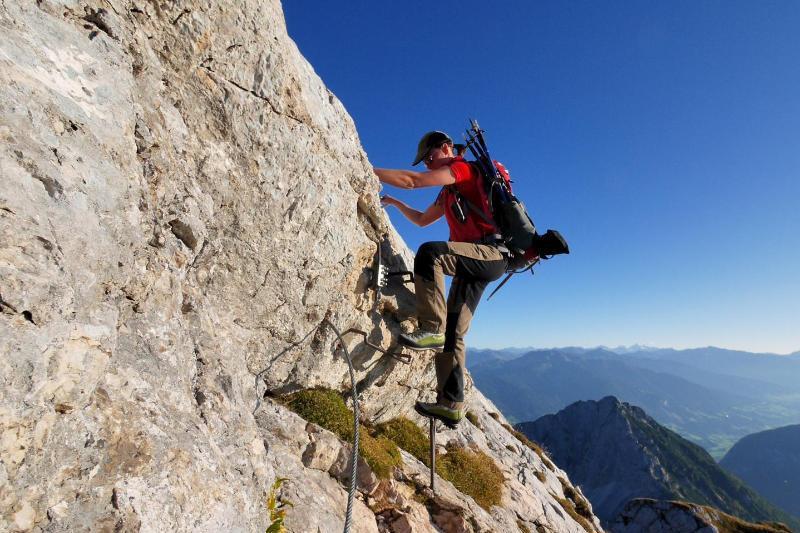 Klettersteigset Xl : Klettersteigset xl petzl kit via ferrata eashook