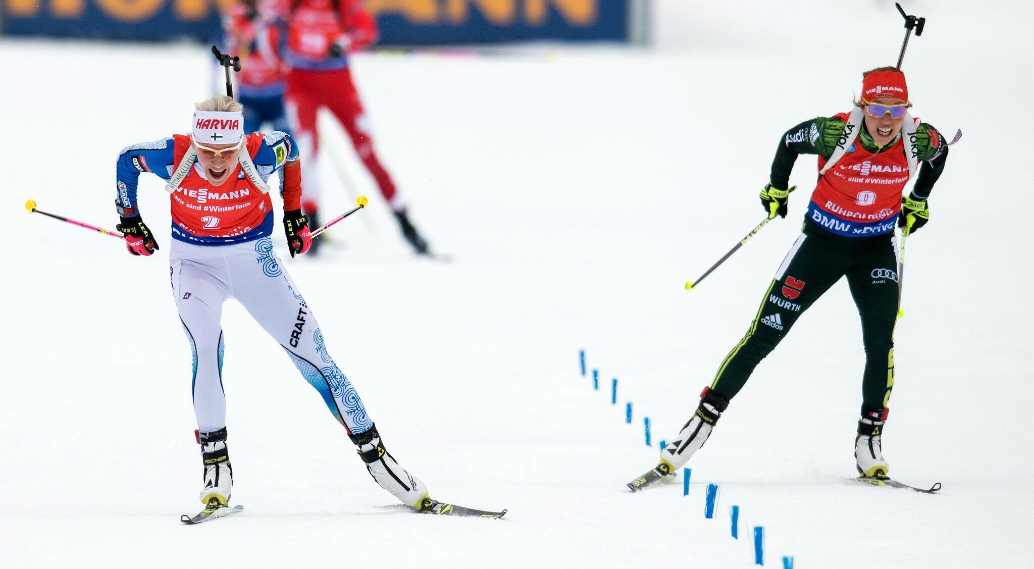 Bild zu Biathlon-Weltcup Ruhpolding - Massenstart Damen