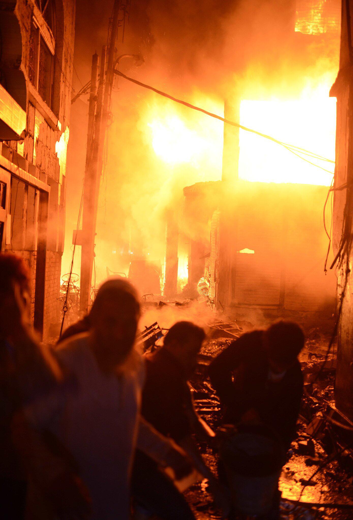 Bild zu Grossbrand in Dhaka